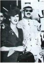King Carol and Magda Lupescu
