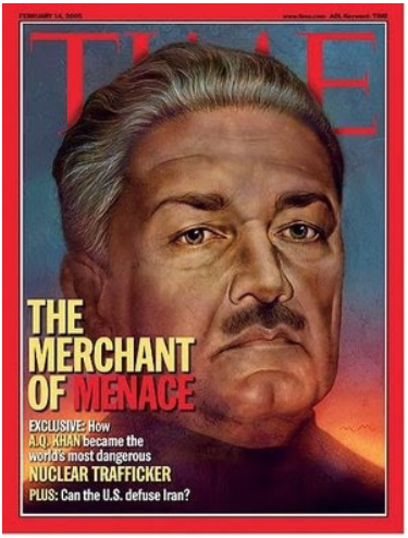 Time Magazine Cover: The Merchant of Menace