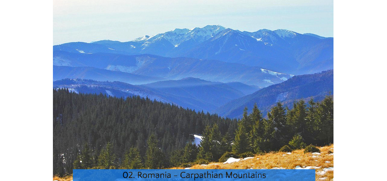 02. Romania Carpathian Mountains