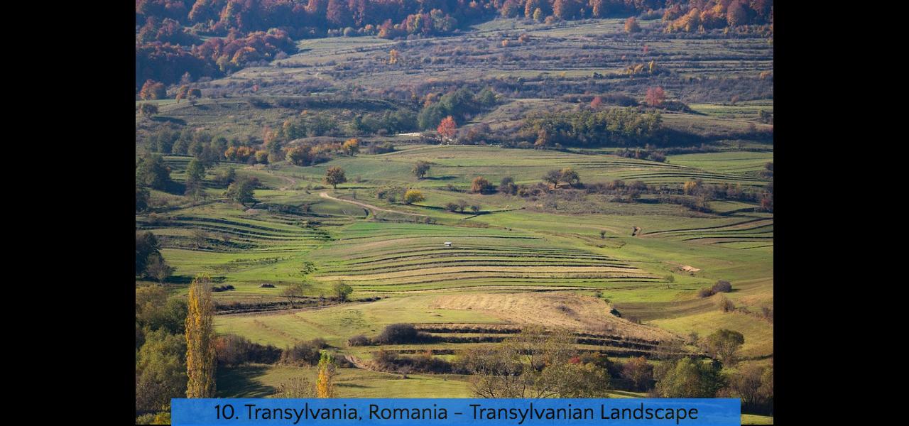 10. Transylvania Landscape