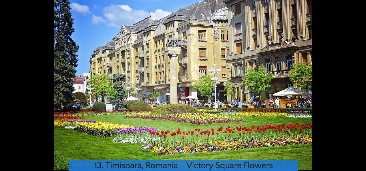 13. Timisoara Victory Square