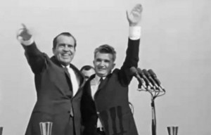 2. President Nixon meeting with Ceausescu